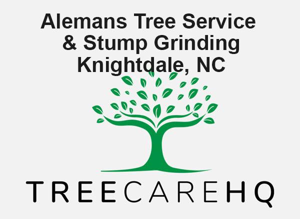Alemans Tree Service & Stump Grinding