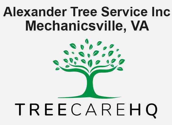 Alexander Tree Service Inc
