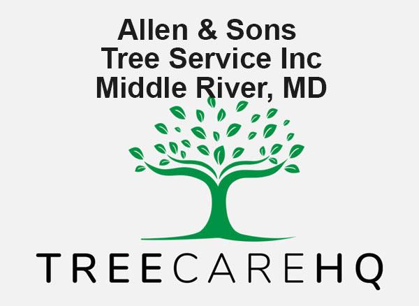 Allen & Sons Tree Service Inc