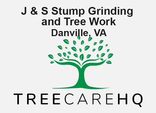 J & S Stump Grinding and Tree Work