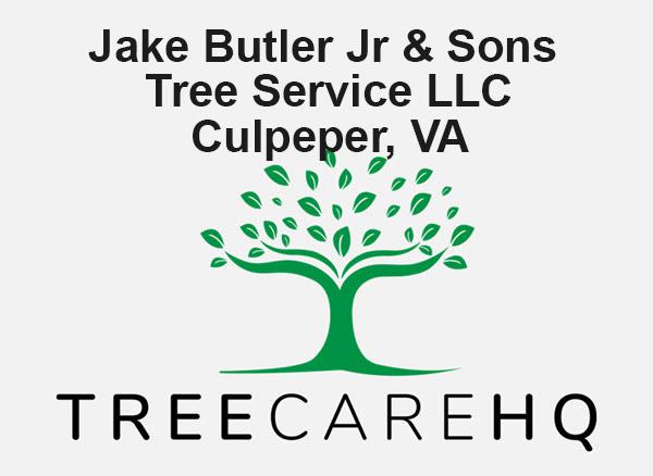 Jake Butler Jr & Sons Tree Service LLC