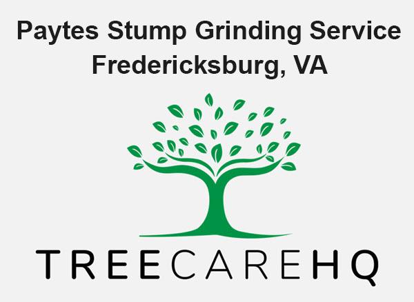 Paytes Stump Grinding Service