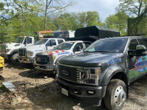 American Tree & Landscaping LLC Tree Service Trucks